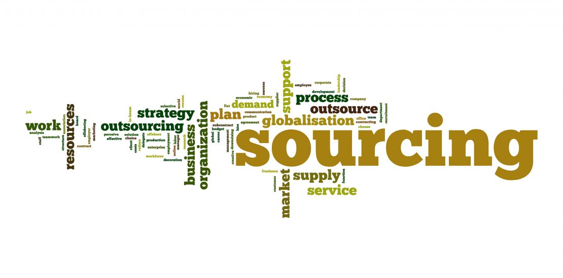 Sourcing word cloud